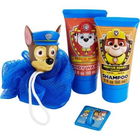 Детский подарочный набор для душа «Щенячий патруль» (4 ед.)  США Nickelodeon PAW Patrol Soap & Scrub Gift Set
