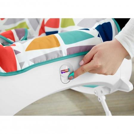 Детское массажное кресло-качели Fisher-Price «Яркая вершина» от рождения до 3-х лет