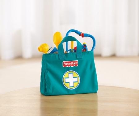 Детский набор доктора Фишер Прайс Fisher-price Medical Kit