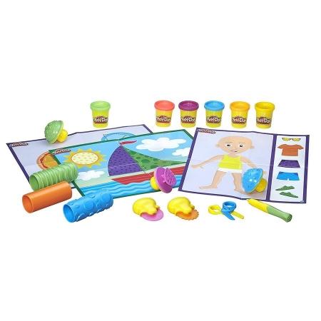 Hasbro Play-Doh Игровой набор Текстуры и инструменты