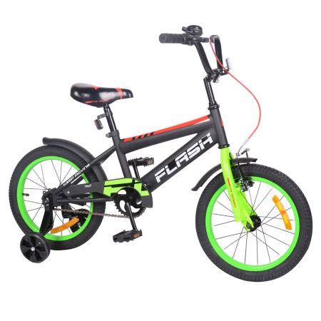 "Велосипед FLASH 16"" T-21647 green /1/"