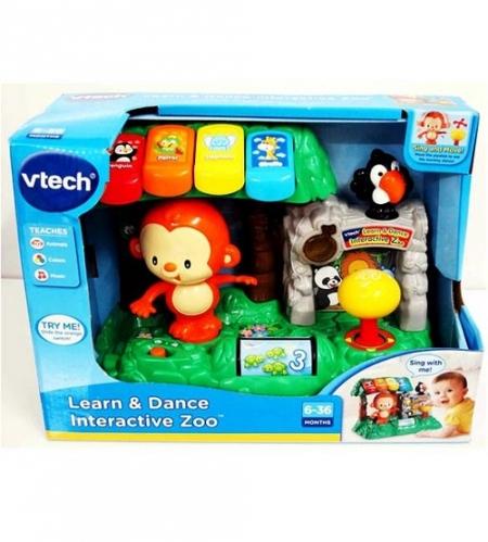 Vtech музыкальный интерактивный Зоопарк пианино Втеч Learn & Dance Interactive Zoo