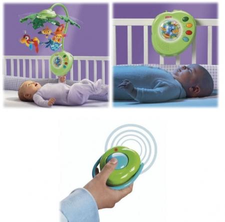 Детский мобиль Fisher-Price «Тропический лес»