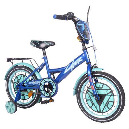 "Велосипед TILLY Cyber 16"" T-216220 blue+azure /1/"