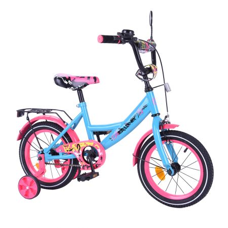 "Велосипед EXPLORER 14"" T-214111 blue_pink /1/"