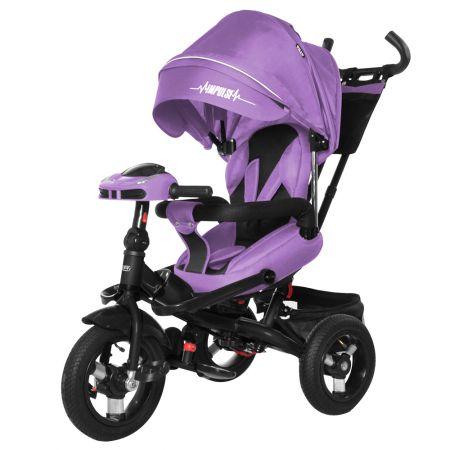Велосипед триколісний TILLY Impulse з пультом і посиленою рамою T-386/1 Фіолетовий льон/1/