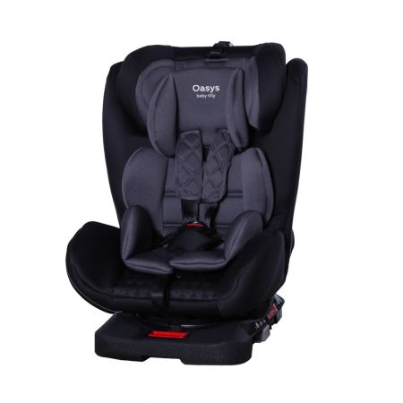 Автокрісло TILLY Oasys T-551 Dark Grey 0+1+2+3 ISOFIX з поворотом /2/