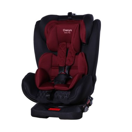 Автокрісло TILLY Oasys T-551 Red 0+1+2+3 ISOFIX з поворотом /2/