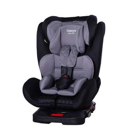 Автокрісло TILLY Oasys T-551 Light Grey 0+1+2+3 ISOFIX з поворотом /2/
