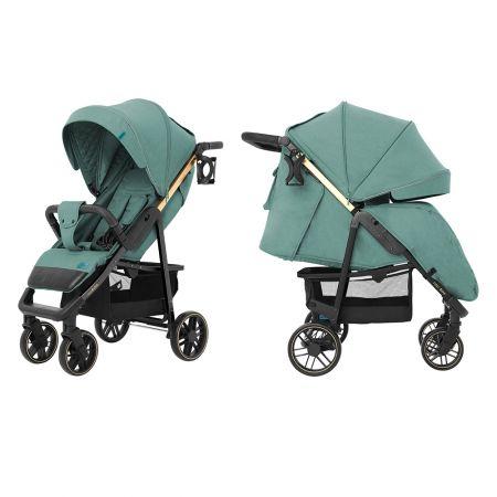 Коляска прогулочная CARRELLO Echo CRL-8508/2 Emerald Green +дождевик L /1/ MOQ