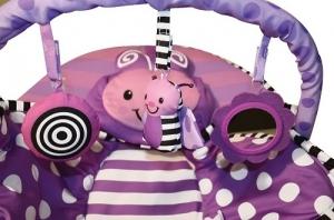 Детский  шезлонг Sassy Cuddle Bug Bouncer ФИОЛЕТОВАЯ БАБОЧКА