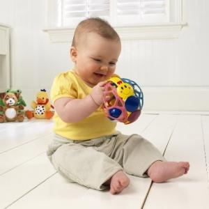 Игрушка звонкий мячик  Беби Энштейн Baby Einstein Bendy Ball
