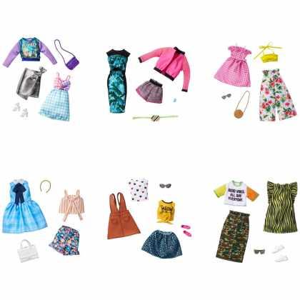 """Одежда Barbie """"Два наряда"""" (в асс.)"""