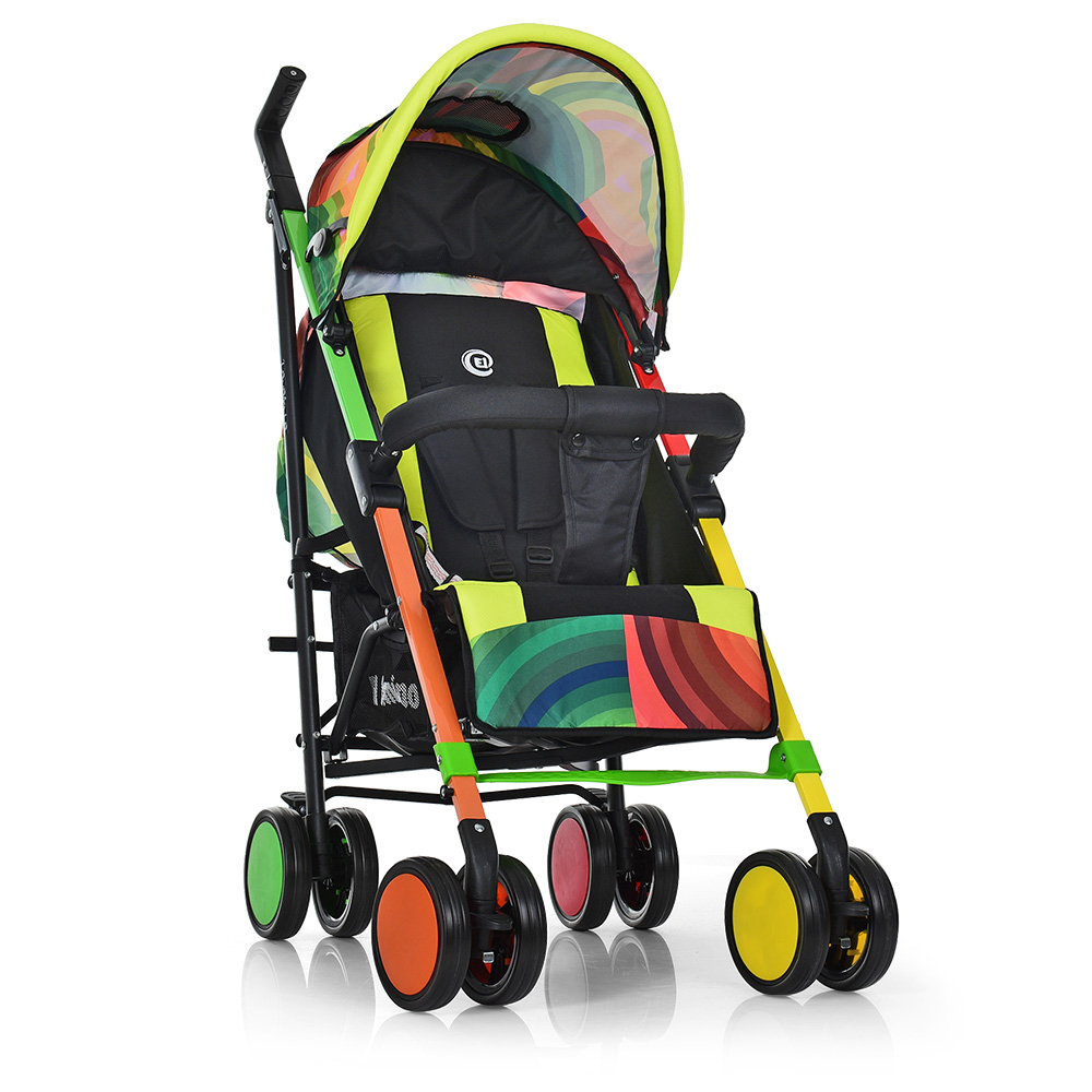 Прогулочная коляска-трость El Camino Colorito ME 1035