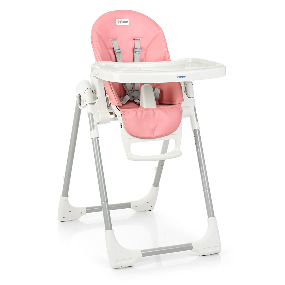 Детский стульчик для кормления El Camino Prime ME 1038 Flamingo розовый