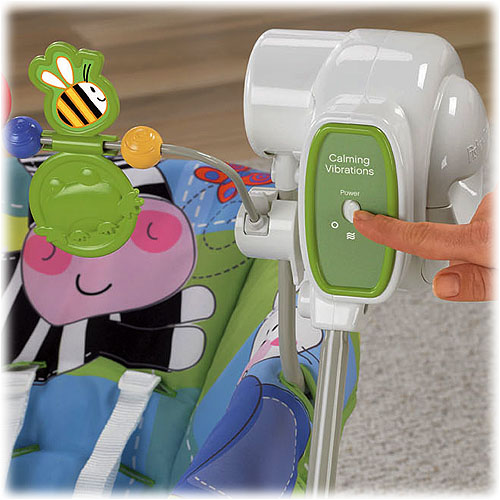 Качели для новорожденных «Веселые друзья» Fisher-Price Space Saver Swing and Seat, Discover'N Grow