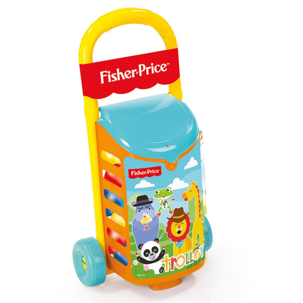Игрушечная тележка с шариками (9 см) Fisher-Price