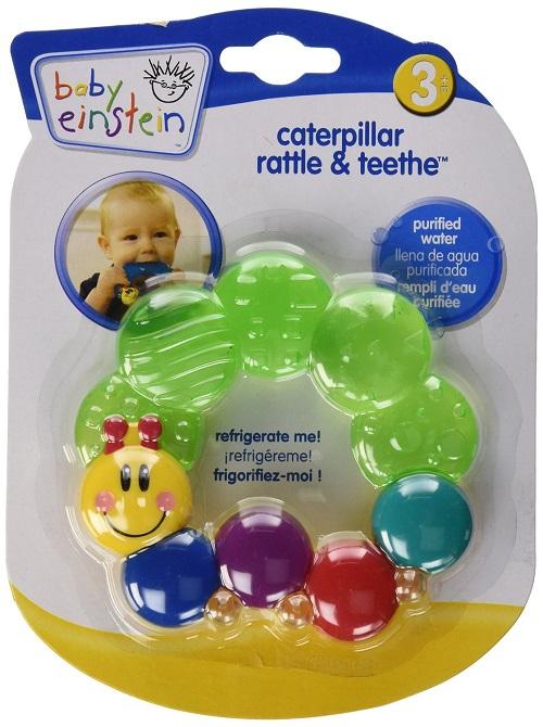 Грызунок, погремушка-прорезыватель для зубов Беби Энштейн Baby Einstein