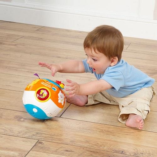 Развивающий интерактивный музыкальный мяч VTech Move and Crawl Ball