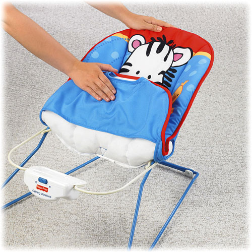 Шезлонг для детей Fisher-Price «Забавные животные» (от 0 до 11 кг)