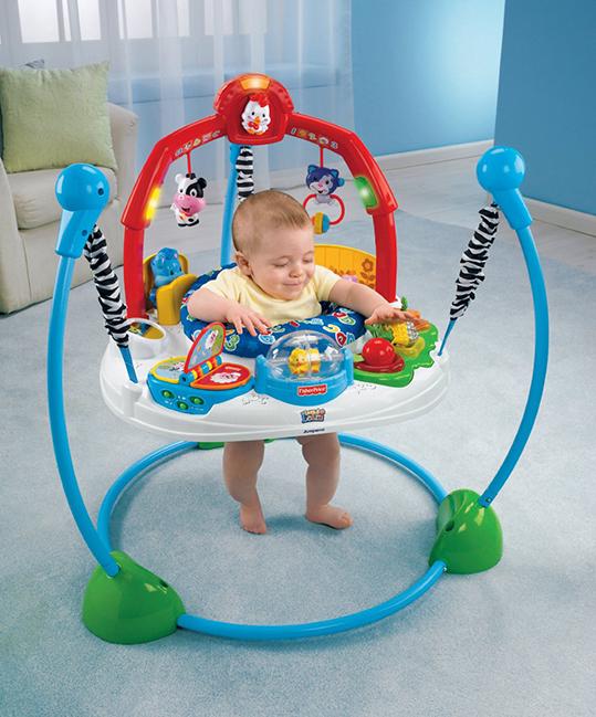 Прыгунки для малышей «Веселая ферма» Fisher-Price Laugh and Learn Jumperoo