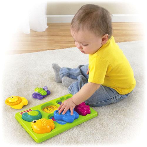 Детская развивающая игрушка Fisher Price Мой первый пазл