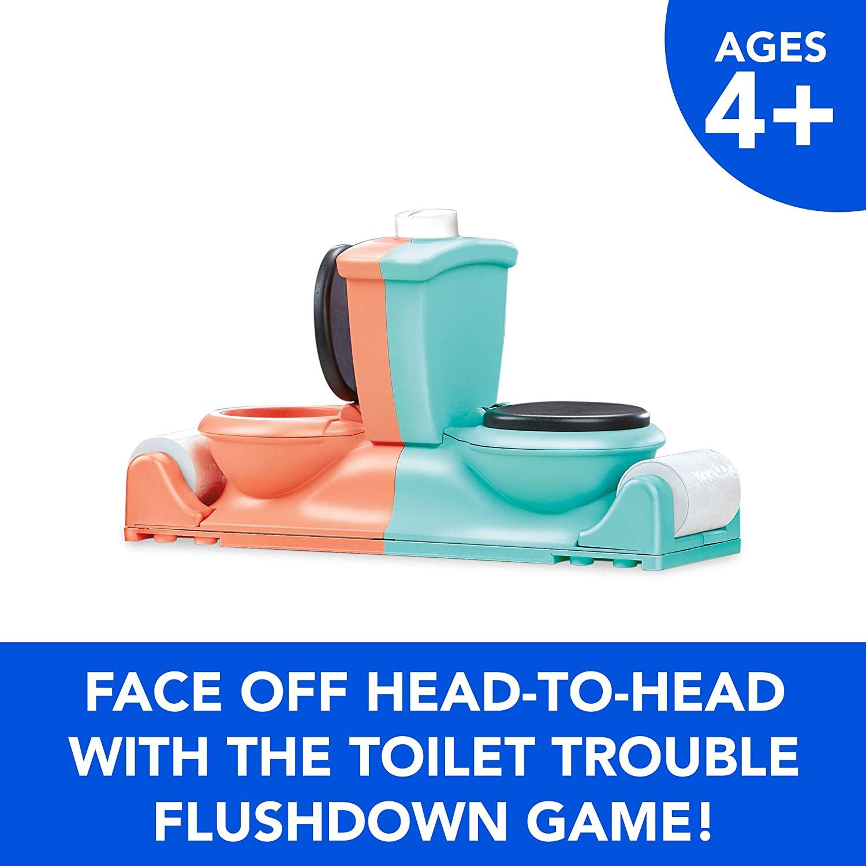 Настольная игра Двойное Туалетное приключение Hasbro Toilet Trouble