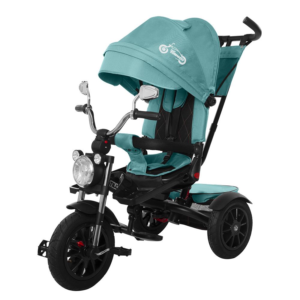 Велосипед триколісний TILLY TORNADO T-383 Темно-зелений /1/