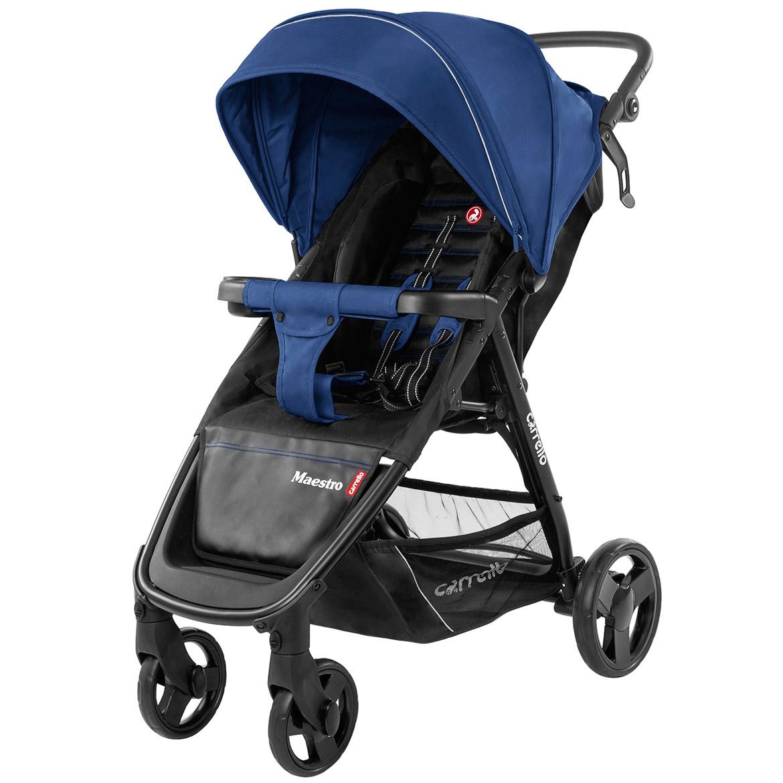 Коляска прогулочная CARRELLO Maestro CRL-1414 Orient Blue +дождевик L /1/ MOQ