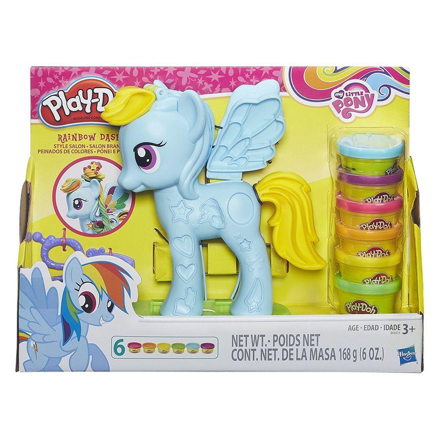 Игровой набор Play-Doh Стильный салон Рэйнбоу Дэш