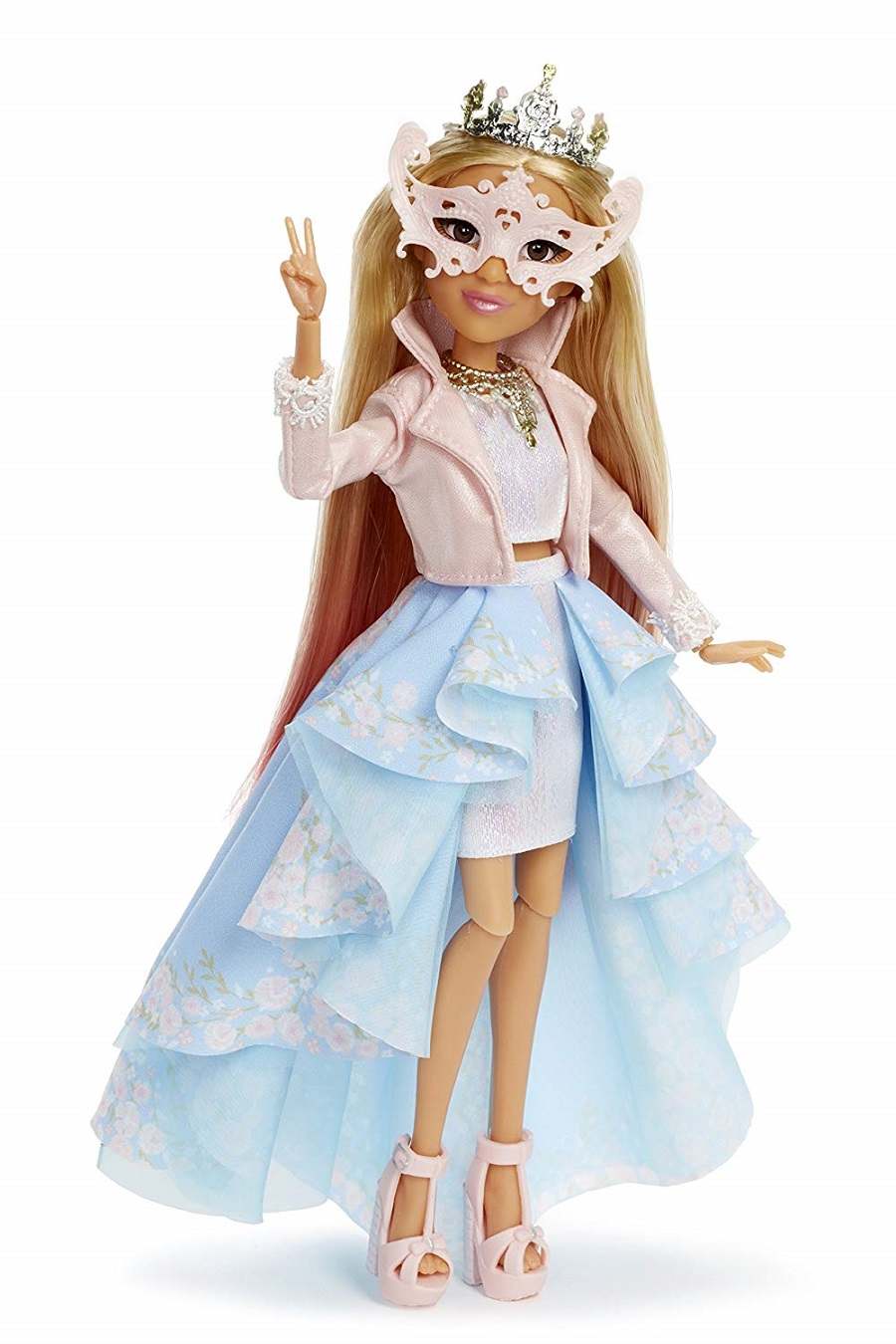 Кукла Адриенна серия Научный эксперимент мыло-лимон Project Mc2