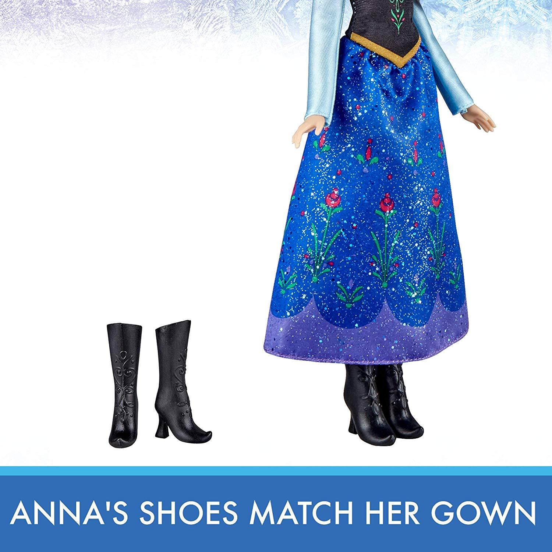 Кукла ПРИНЦЕССА АННА Princess Hasbro Anna Frozen Холодное сердце