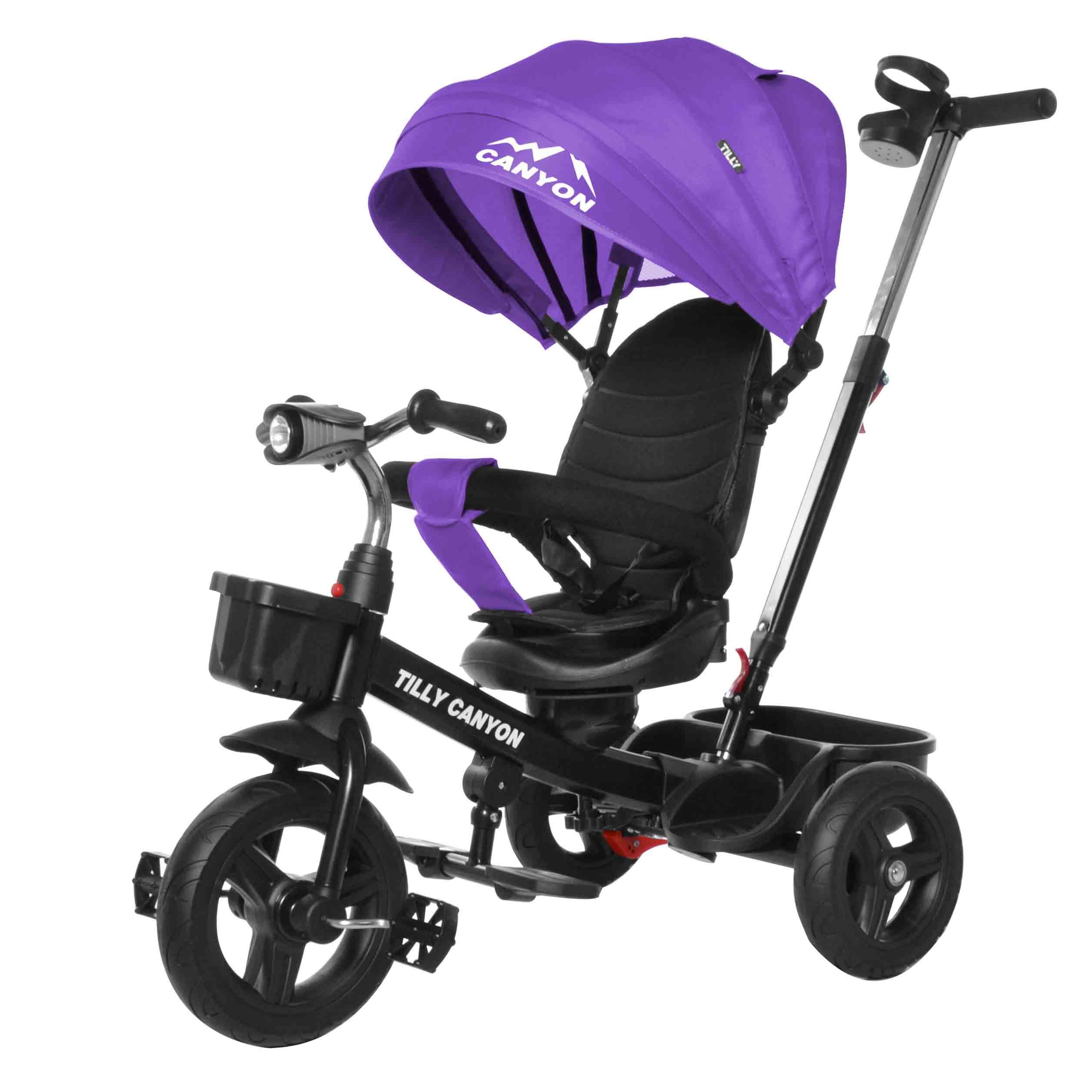 Велосипед триколісний TILLY CANYON T-384 Фіолетовий/1/