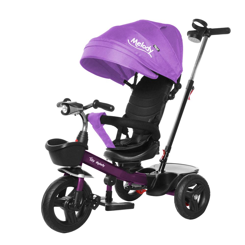Велосипед триколісний TILLY Melody T-385 Фіолетовий/1/