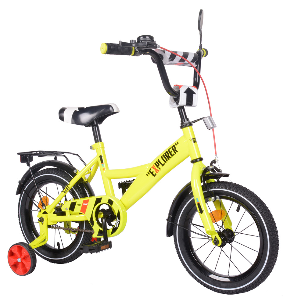 "Велосипед EXPLORER 14"" T-214110 yellow /1/"