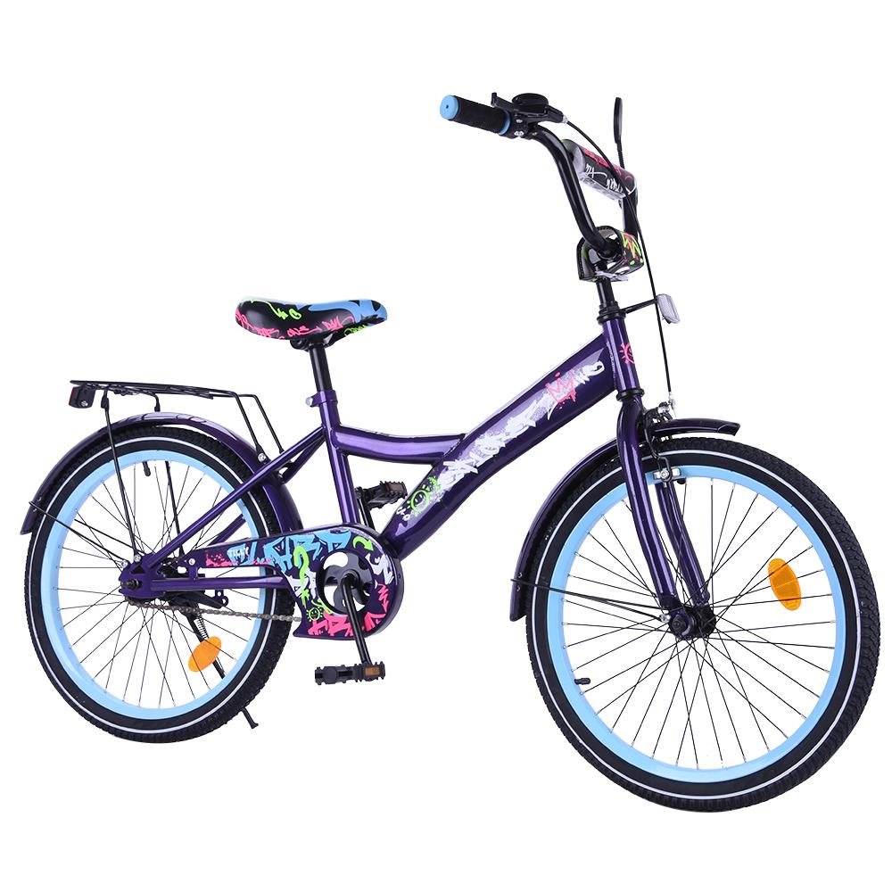 """Велосипед EXPLORER 20"""" T-220115 black_blue /1/"""