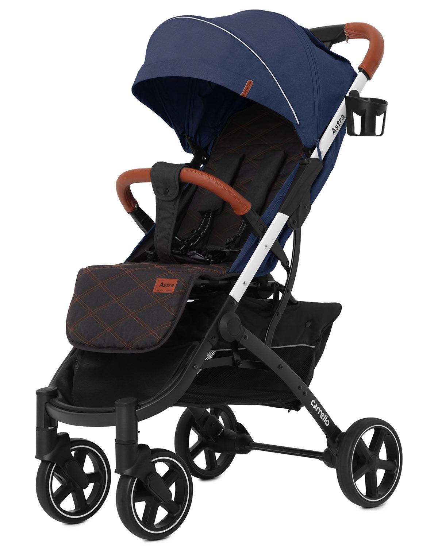 Коляска прогулочная CARRELLO Astra CRL-5505 Ocean Blue +дождевик S /1/ MOQ
