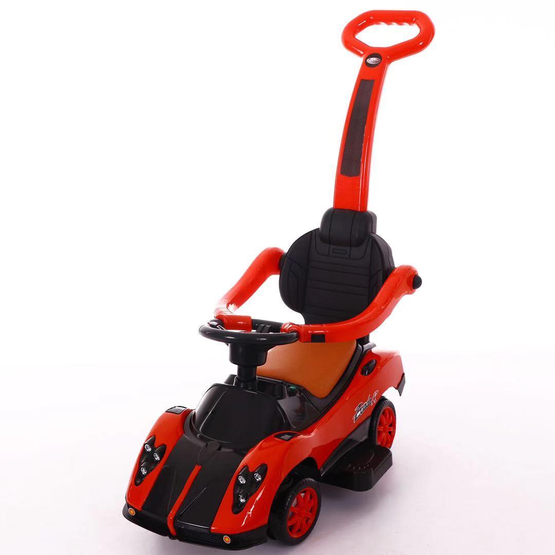 Толокар T-937 RED з муз.світ,шкірян. сидіння,колеса повертают.на 360 69*42*85 /1/