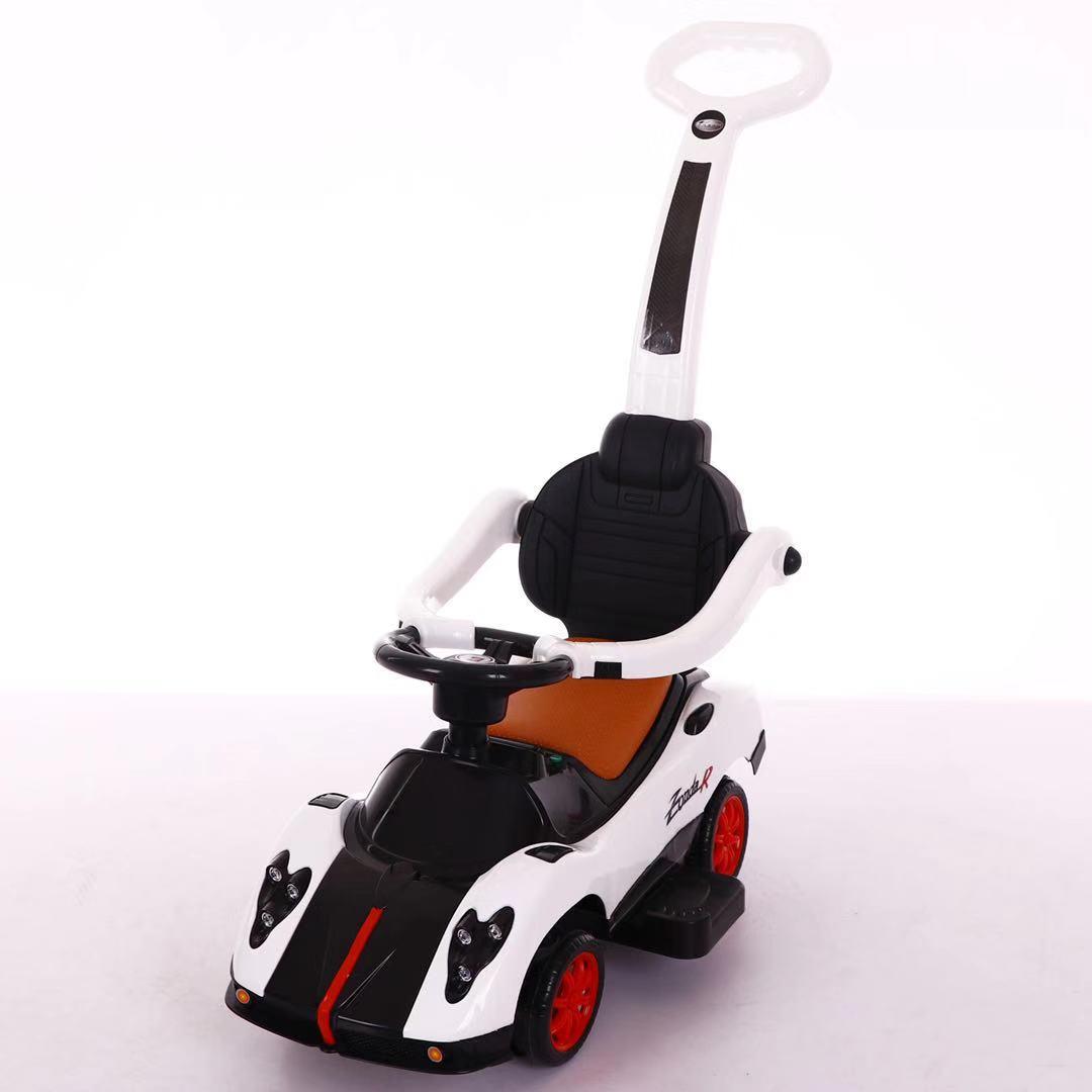 Толокар T-937 WHITE з муз.світ,шкірян. сидіння,колеса повертают.на 360 69*42*85 /1/