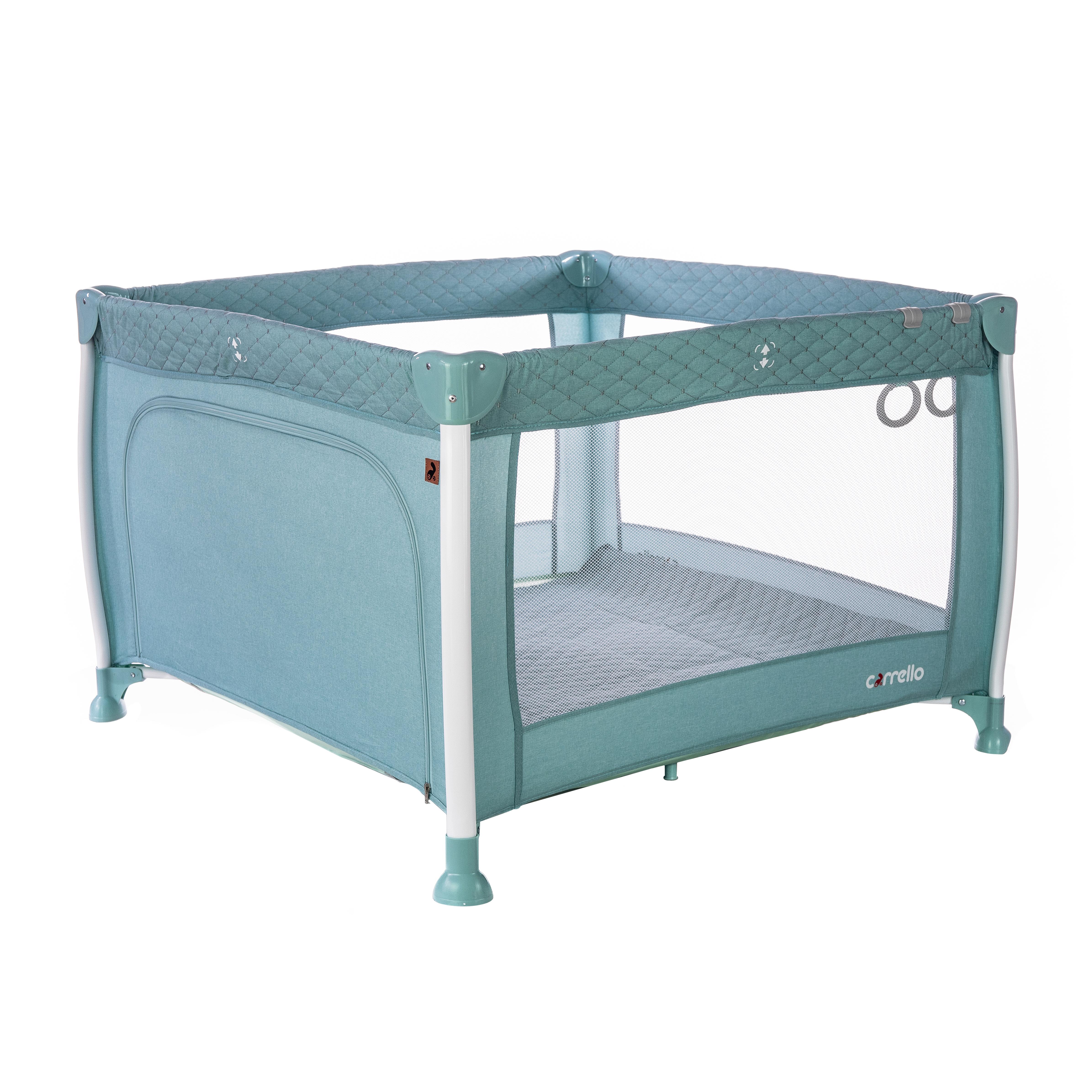 Манеж CARRELLO Cubo CRL-11602/1 Mint Green /1/ MOQ