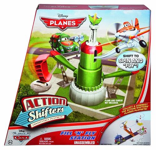 """Игровой набор """"Идем на взлет""""  Дисней Самолеты Disney Planes Action Shifters Chugs Fill N Fly Playset"""