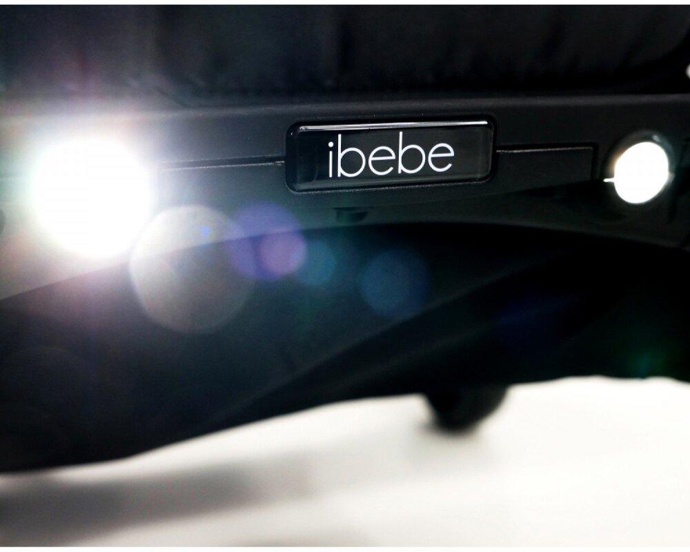 Коляска прогулочная Ibebe i-stop Mini Mi2 grey