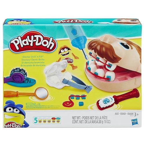 Play Doh игровой набор Мистер Зубастик Новая версия  Плей До Doctor Drill 'n Fill