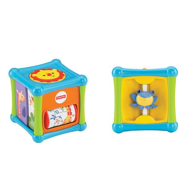Игровой кубик со зверушками Fisher-Price