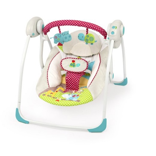 Портативное кресло-качели  Bright Starts «Горошек»