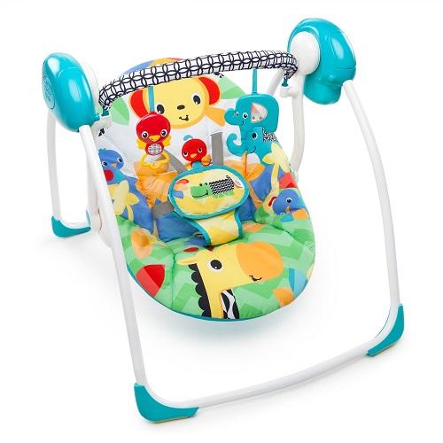Портативное кресло-качели  Bright Starts «Улыбка Саванны»