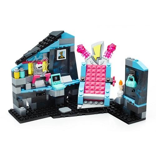 Monster High конструктор Мега Блокс Комната Френки Штейн Mega Bloks  Frankie Electrifying Room