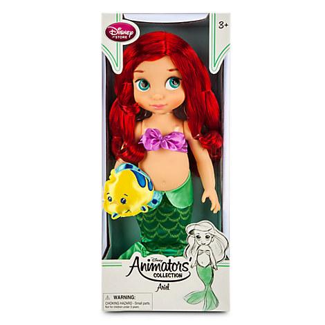 Кукла Аниматор Дисней принцесса Русалочка Ариэль в детстве Disney Animators' Collection Ariel Doll