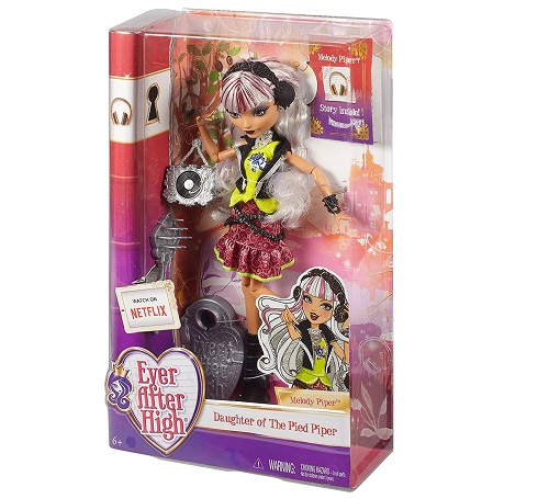 Кукла Эвер Автер Хай Мелоди Пайпер (Melody Piper doll) Ever After High, Mattel