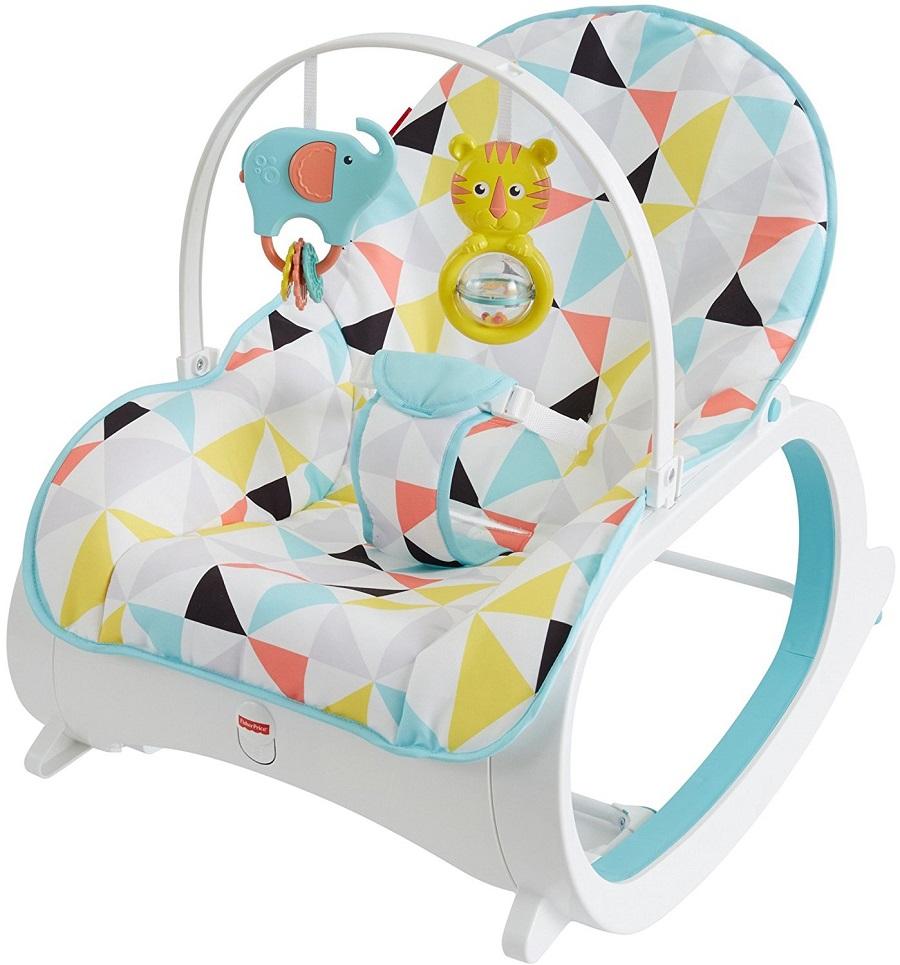 Шезлонг кресло-качалка Fisher Price ДЕТСКИЕ МЕЧТЫ, от 0 до 3-х лет. Оригинал США